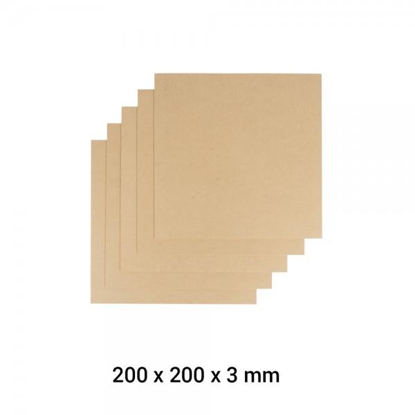 Snapmaker 2.0 Material MDF Holz A250 5er Pack / MDF Wood Sheet