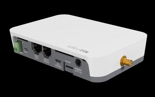 MikroTik KNOT -IoT Lora8 Kit Gateway, RB924iR-2nD-BT5&BG77&R11e-LR8