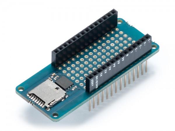 Arduino® Shield MKR MEM (Flash-Speicher & microSD Karte Slot)