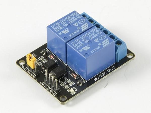 ALLNET 4duino Relais-Modul 2-fach mit Optokoppler