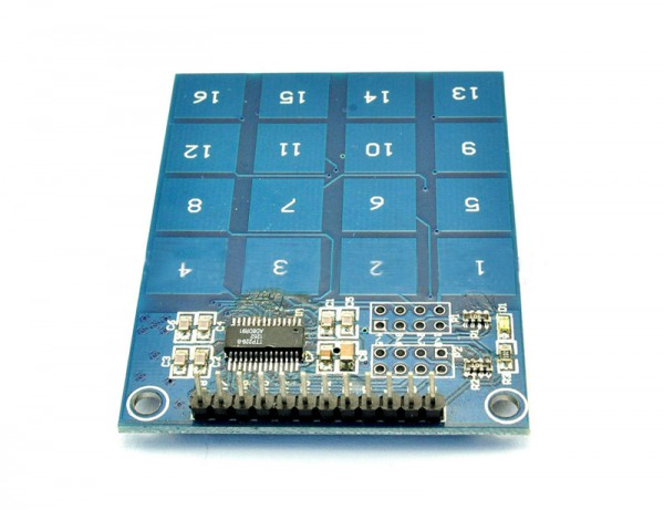 ALLNET 4duino 16 channel Capacitive Touch Button Switch Board
