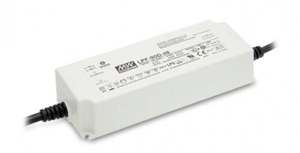 Mean Well Netzteil - 24V 90W IP67 dim