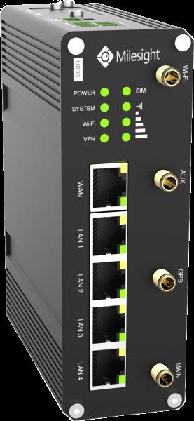 Milesight IoT Ind. Cellular Router UR35 Wi-Fi