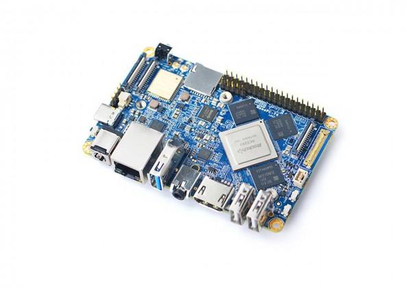 FriendlyELEC NanoPc-T4 - 4GB/16GB Dual-Core A72/ Quadcore A53 64-bit ARM Board RK3399