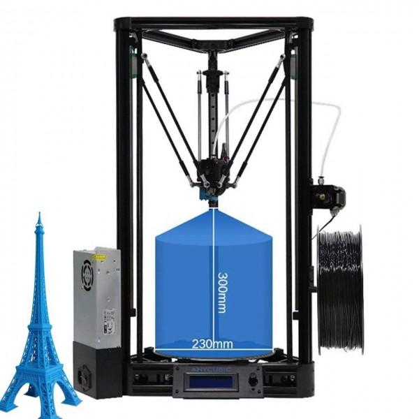 ANYCUBIC Kossel Linear PLUS 3D Druckerbausatz (verbesserte Version)
