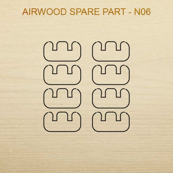 Airwood Holz Ersatzteil N06 / Spare Wood Part N06