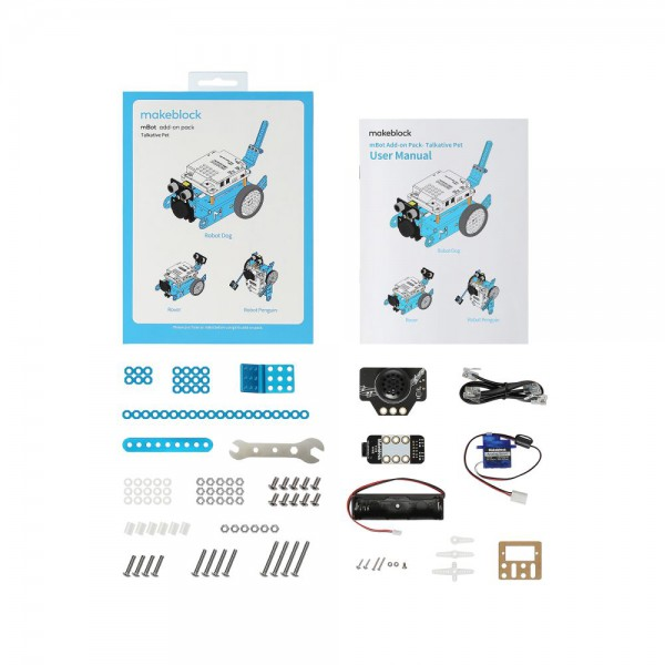 "Makeblock MINT Roboter Erweiterung 3-in-1 ""Talkative Pet"" (Add-on Paket)"