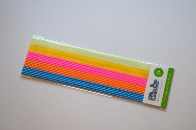 "3Doodler Create+ Filament PLA blau, orange, rosa, gelb, hellgrün 24 Stück ""Boogie Nights 24 Pack"""
