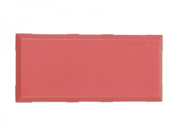 ALLNET Brick'R'knowledge Kunststoffschale 2x1 rot oben und unten 10er Pack