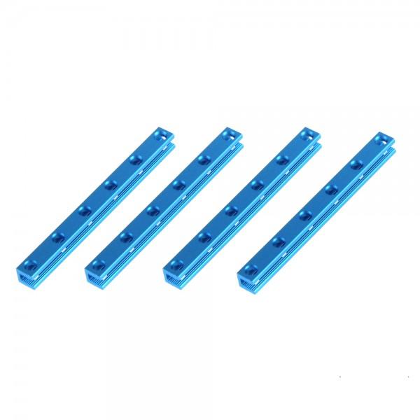"Makeblock ""Beam 0808-104 Blue (4-Pack)"" / 4x Verbindungsprofil 0808-104 für MINT Roboter"