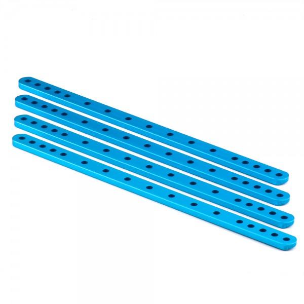 """Makeblock """"Beam 0412-204 Blue (4-Pack)"""" / 4x Lochstab 0412-204 für MINT Roboter"""