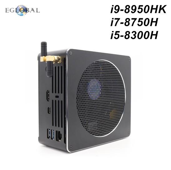 Mini-PC - Intel® Core™8th Generation i9-8950HK auf Nuc Basis *Barebone*Silent Lüfter
