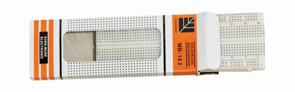 ALLNET 4duino Steckbrett 830 Kontakte, für Versuchsaufbauten ALL-A-10