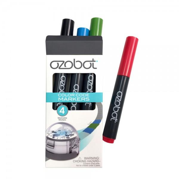 "Ozobot MINT Stifte abwaschbar bunt ""Washable Markers Color"" für Roboter"