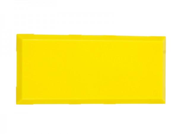 ALLNET Brick'R'knowledge Kunststoffschale 2x1 gelb oben und unten 10er Pack