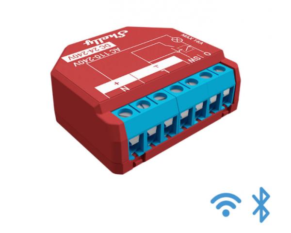 Shelly Relais Plus Line 1PM Plus WLAN Schaltaktor mit Verbrauchsmessung