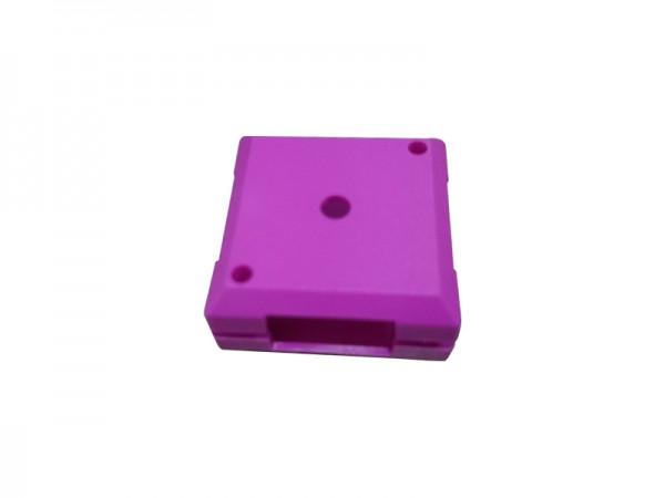 ALLNET Brick'R'knowledge Kunststoffschale 1x1 violett oben und unten 10er Pack