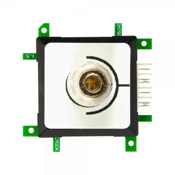 ALLNET Brick'R'knowledge Messadapter 4mm Endpoint Rot mit zusätzlicher Kabelklemme