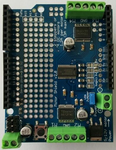 ALLNET 4duino Board Motor Shield II