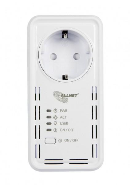 """ALLNET MSR IO Zentrale Schaltsteckdose inkl. WLAN """"ALL3073V2WLAN"""" für IP Gebäude Automation"""