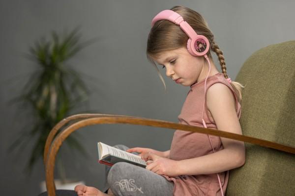 Onanoff Kopfhörer für Kinder | Basic | Pink