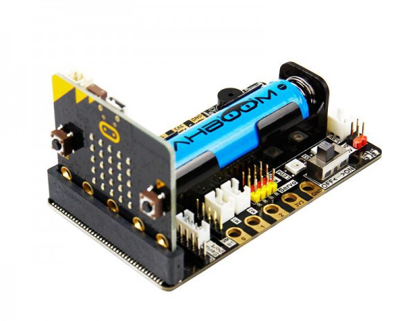 Yahboom super:bit expansion board mit Batterie und USB Kabel (ohne micro:bit Board)