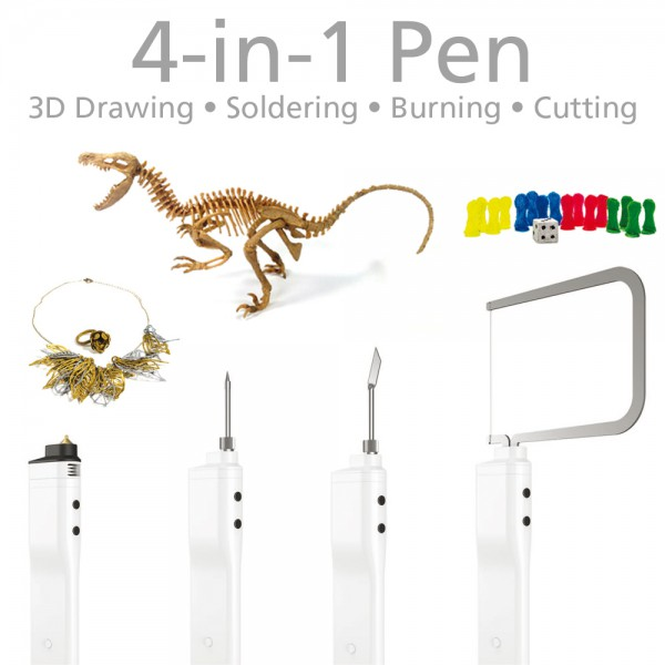 3DSimo Mini 2 Box - 3D Drawing, Soldering, Burning & Cutting 3D Pen