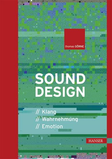"""""""Sounddesign"""" Hanser Verlag Buch - 278 Seiten"""