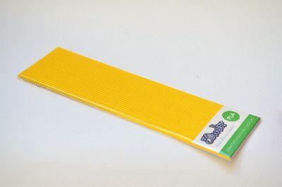 """3Doodler Create+ Filament PLA gelb 24 Stück """"Rubber Ducky Yellow 24 Pack"""""""