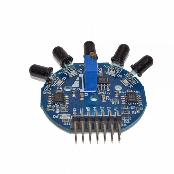 ALLNET 4duino 5 Kanal Flammen-Sensor Modul Analog/Digital