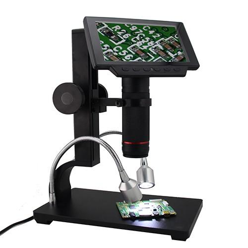 """Andonstar ADSM302 / Digital-Mikroskop mit 5""""-LCD, Full-HD, HDMI/AV, 560-fache Vergrößerung"""