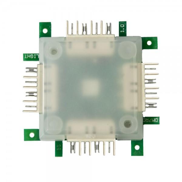 ALLNET Brick'R'knowledge LED RGB light Brick transparent