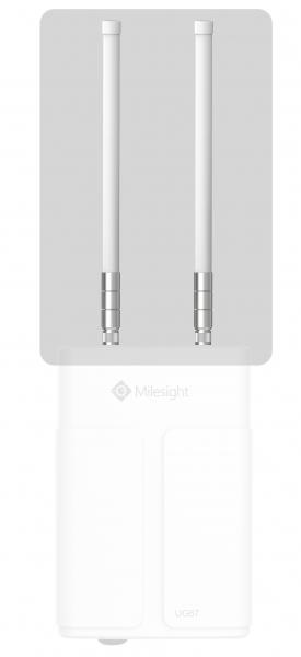 Milesight IoT LoRaWAN Gateway UG67 Ext. 2 * LoRa Antennas 868Mhz Accessories