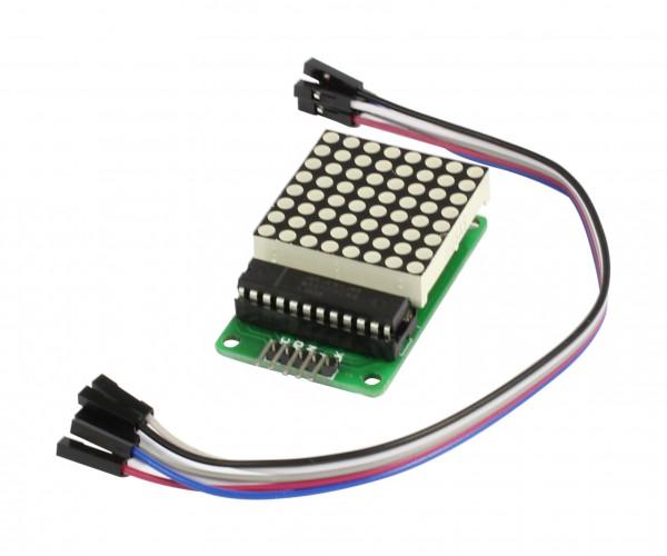 ALLNET 4duino LED Modul 8x8 DOT Matrix Tube
