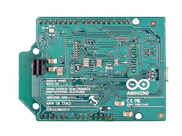 Arduino® WiFi shield (antenna connector)