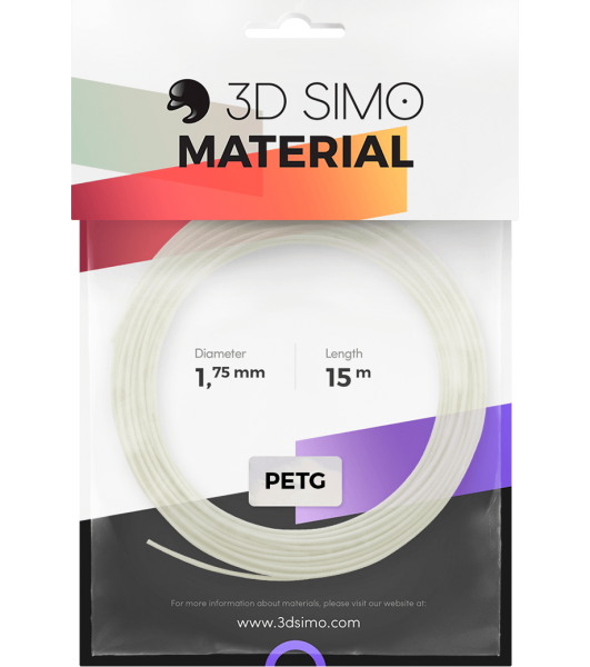 3Dsimo Filament PETG Transparent