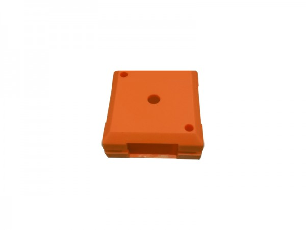 ALLNET Brick'R'knowledge Kunststoffschale 1x1 orange oben un