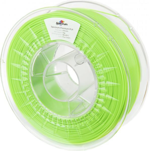 Spectrum 3D Filament PLA 1.75mm FLUORESCENT grün 1kg