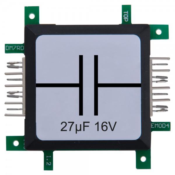 ALLNET Brick'R'knowledge Kondensator 27µF 16V