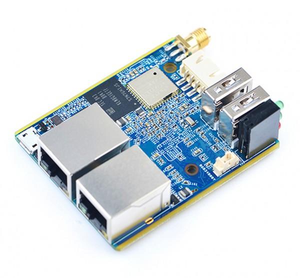 FriendlyELEC NanoPi R1 1GB Version H3 Combo mit Gehäuse