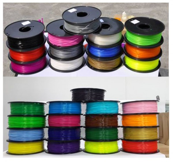 Synergy 21 3D Filament PLA /solid / 1.75MM/ orange