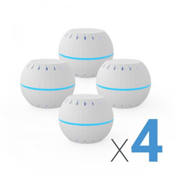 Shelly Sensor H&T Temperatur & Feuchtigkeit White 4er Pack