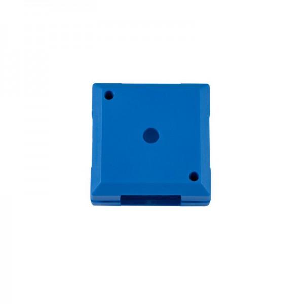 ALLNET Brick'R'knowledge Kunststoffschale 1x1 blau oben und