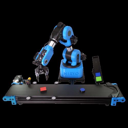Niryo Ned Förderband - Erweiterung für den 6-Achsen Roboter für den Bildungbereich