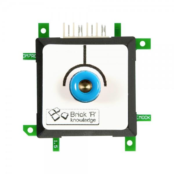 ALLNET Brick'R'knowledge Messadapter 4mm Endpoint Blau