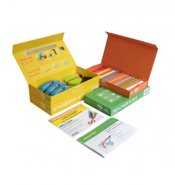 "3Doodler MINT 3D Stift Schulset ""Start Learning Pack 6 Pens"" ab 6 Jahren"