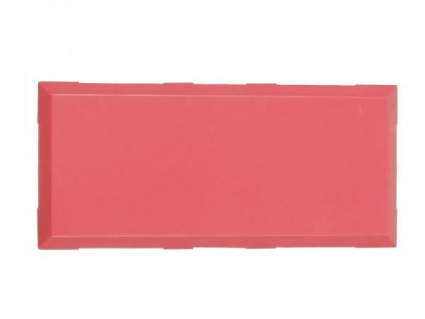 ALLNET Brick'R'knowledge Kunststoffschale 2x1 magenta oben und unten 10er Pack