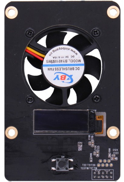 Raspberry Rock Pi 4 zbh. SATA NAS HAT Top Board