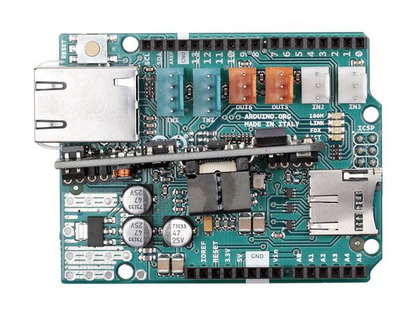 Arduino® ETHERNET shield 2 WITH PoE