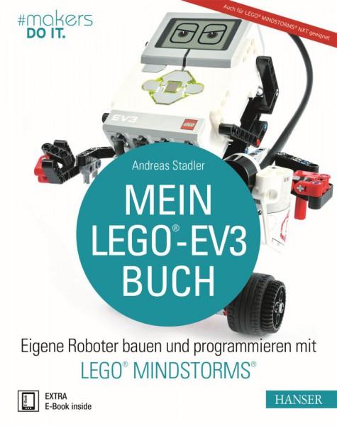 """""""Mein LEGO®-EV3-Buch"""" Hanser Verlag Buch - 290 Seiten inkl. E-Book"""